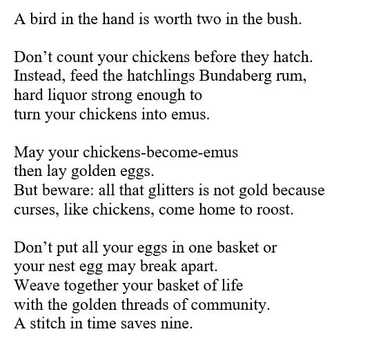 my wisdom poetry 1